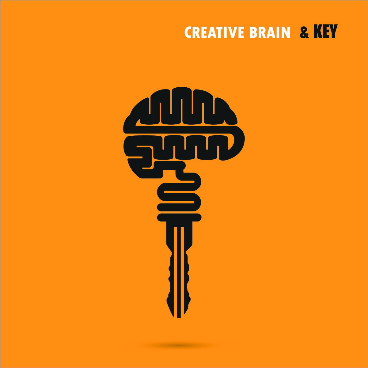bigstock-Creative-Brain-Sign-With-Key-S-117854132